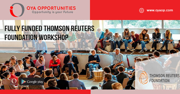 Fully Funded Thomson Reuters Foundation Workshop