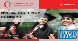 Funded TWAS-ICCBS Fellowship Programme 2019