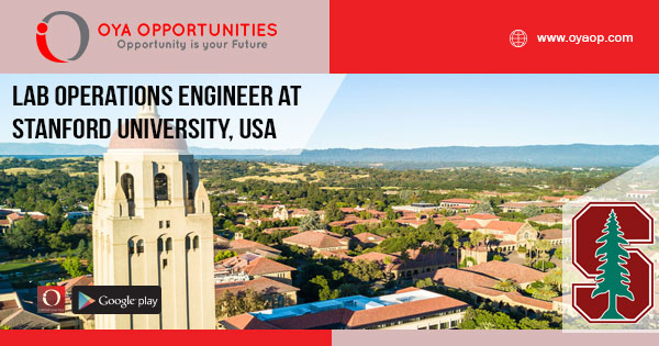 Lab Operations Jobs at Stanford University, USA