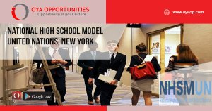 National High School Model United Nations, New York