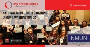 National Model United Nations (NMUN), Washington,DC