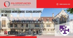 St Cross Worldwide Scholarships in UK