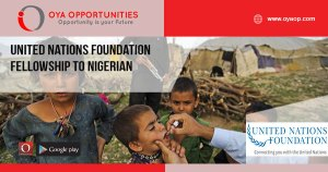 United Nations Foundation Fellowship to Nigeria
