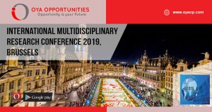 International Multidisciplinary Research Conference 2019, Brussels