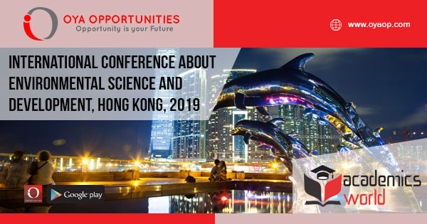 International Conference about Environmental Science and Development, Hong Kong