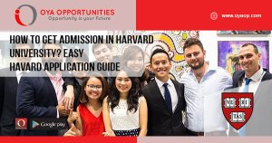 How to get Admission in Harvard University? Easy Harvard Application Guide