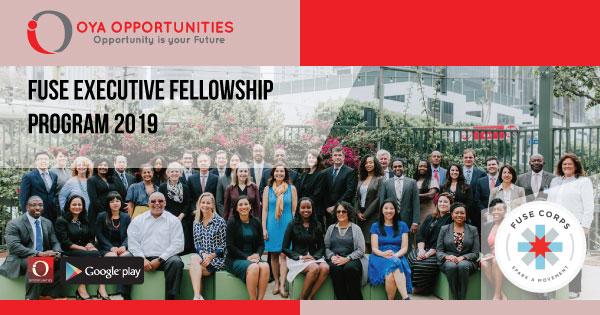 Fuse Executive Fellowship Program 2019