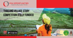 Thailand Village Story Competition [Fully Funded]
