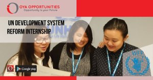 UN Development System Reform Internship