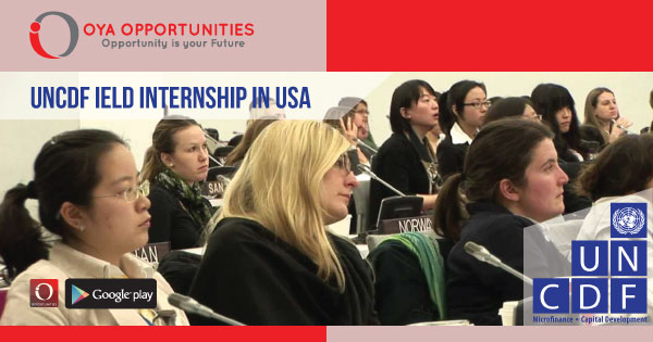 UNCDF IELD Internship in USA