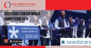 Seedstars Startup World Competition 2019