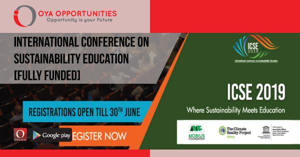 International Conference on Sustainability Education [Fully Funded]