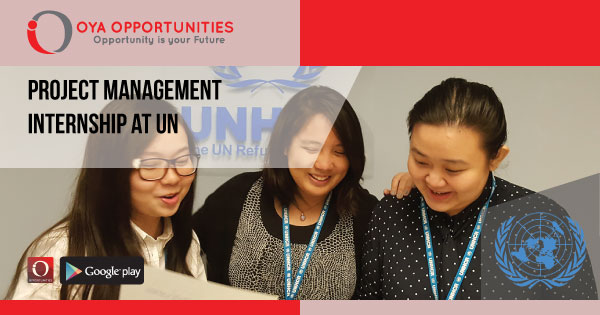 Project Management Internship at UN