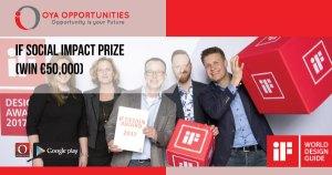 iF Social Impact Prize (win €50,000)