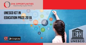 UNESCO ICT in Education Prize 2019
