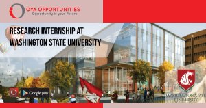 Research Internship at Washington State University