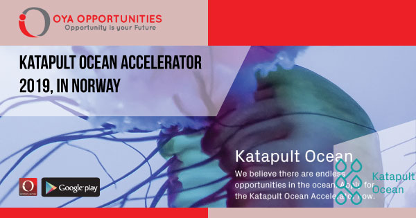Katapult Ocean Accelerator 2019, in Norway
