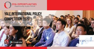 Yale International Policy Competition 2020