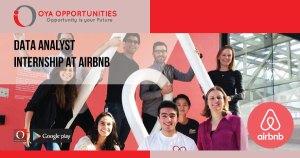 Data Analyst Internship at AirBnB