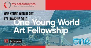 One Young World Art Fellowship 2019