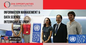 Information Management & Data Science Internship at UNDP