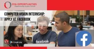 Computer Vision Internship. A step by step approach to get Facebook internship!