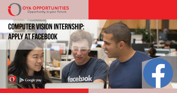Computer Vision Internship. A step by step approach to get Facebook internship!