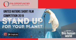 United Nations Short Film Competition 2019