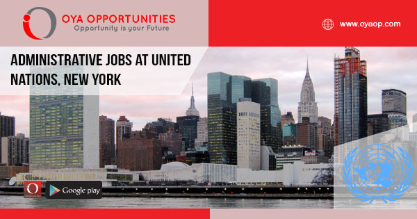 Administrative jobs at United Nations, New York