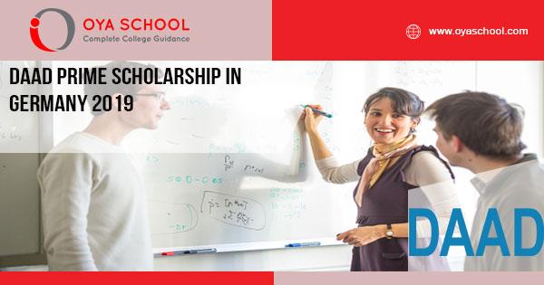 DAAD PRIME Scholarship in Germany 2019