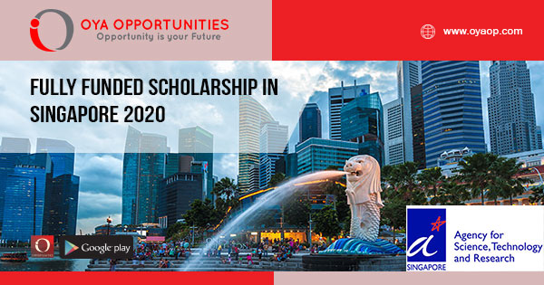 Fully Funded Scholarship in Singapore 2020