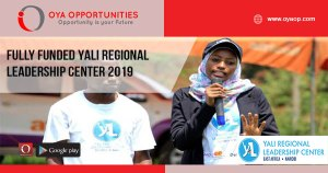Fully Funded YALI Regional Leadership Center 2019