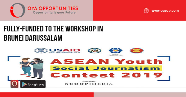 Fully-Funded to the Workshop in Brunei Darussalam