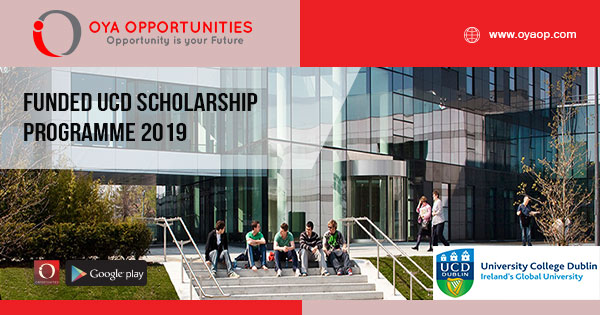 Funded UCD Scholarship Programme 2019
