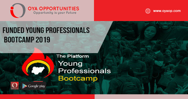 Funded Young Professionals Bootcamp 2019