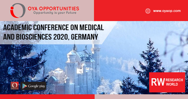 Academic Conference on Medical and Biosciences 2020, Germany