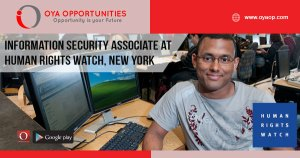 Human Rights Watch Jobs at New York