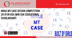 Make My Case Design Competition 2019 in USA (Win $5K Educational Scholarship)