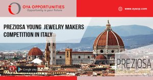 PREZIOSA Young Jewelry Makers Competition In Italy