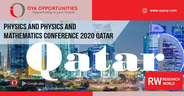 Physics and Mathematics Conference 2020 Qatar