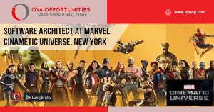 Jobs at Marvel Cinematic Universe
