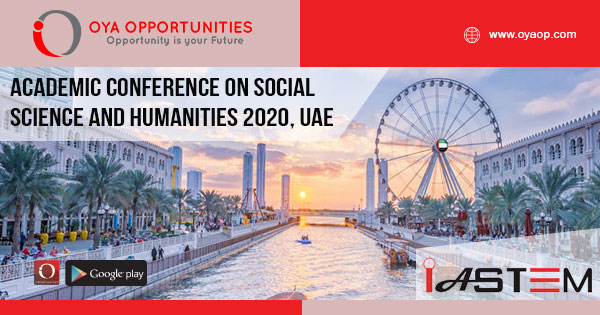 Academic Conference on Social Science and Humanities 2020, UAE