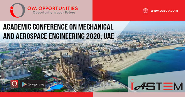 Academic Conference on Mechanical and Aerospace Engineering 2020