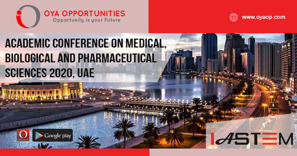 Academic Conference on Medical, Biological and Pharmaceutical Sciences 2020, UAE