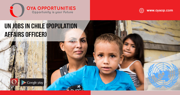 UN jobs in Chile (Population Affairs Officer)