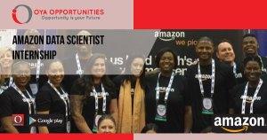 Amazon Data Scientist Internship