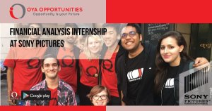 Financial Analysis Internship at Sony Pictures