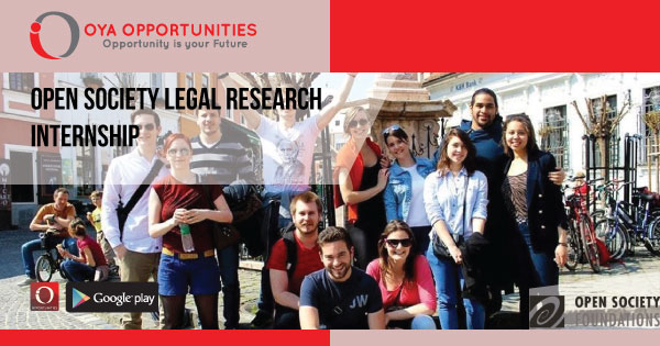 Open Society Legal Research Internship
