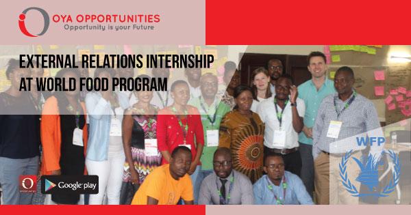 External Relations Internship at World Food Program