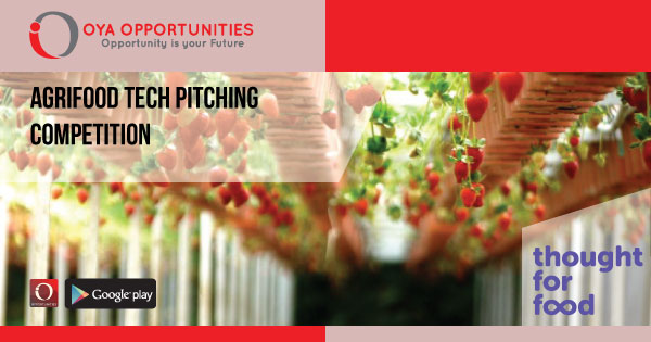 AgriFood Tech Pitching Competition